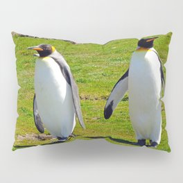 King Penguins Pillow Sham