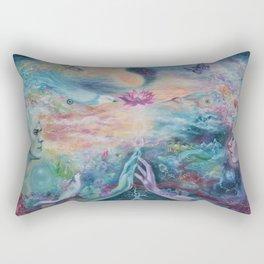 Divine Sacred Union Rectangular Pillow