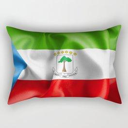 Equatorial Guinea Flag Rectangular Pillow