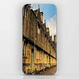 The Almshouses of Chipping Campden iPhone Skin