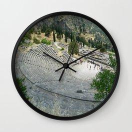 Theatre at Delphi Wall Clock