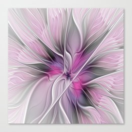 A Blooming Dream, Abstract Fractal Art Canvas Print