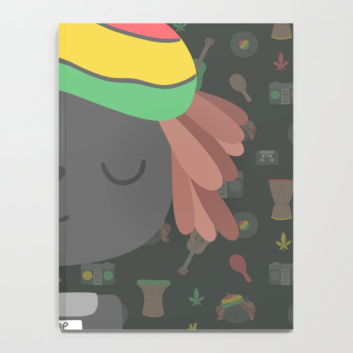 Cute Reggae Notebook