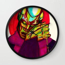In Dio Confido Wall Clock