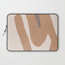 abstract minimal girl Laptop Sleeve