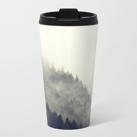 Forest Moon Metal Travel Mug