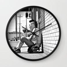 Tacoma skater Wall Clock