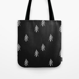 nordic fir trees Tote Bag