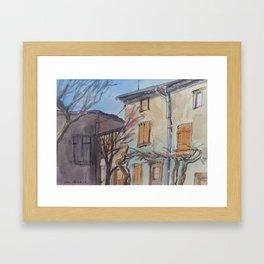 Winter Vine Framed Art Print