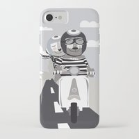 vespa iPhone & iPod Cases featuring VESPA by tonadisseny