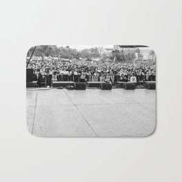 Crowd Shot from Backstage Bath Mat