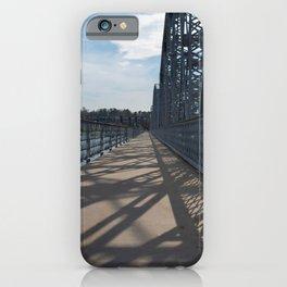 steel shadows iPhone Case
