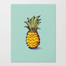 L'ananas Canvas Print