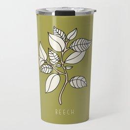 Beech Leaf Travel Mug