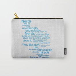 NERDS LIKE US Carry-All Pouch