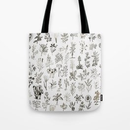 Drwaing Nature Tote Bag