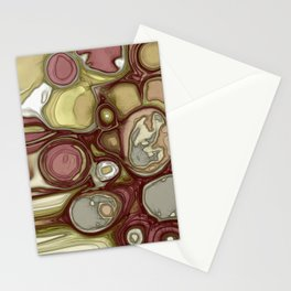 Canyon rocks series No. 4 of 10 Stationery Cards