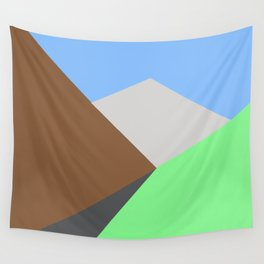 Road to the snow Wall Tapestry