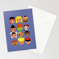 Street Fighter 2 Mini Stationery Cards