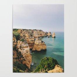 Ponta da Piedade, Lagos, Portugal Poster