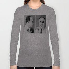 Al Capone Mugshot  Long Sleeve T-shirt