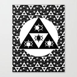 gEYEometric Canvas Print