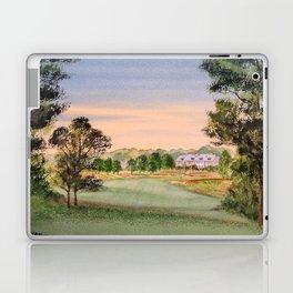 Hamilton Farm Golf Club Highlands Course 18th hole Laptop & iPad Skin