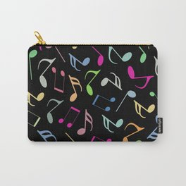 Music Colorful Notes II Carry-All Pouch