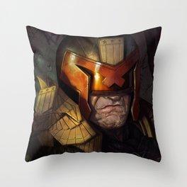 Dredd Throw Pillow