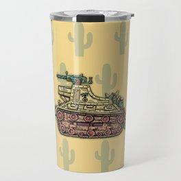 African desert corps tank WWII Travel Mug
