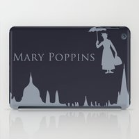 mary poppins iPad Cases featuring Mary Poppins by Citron Vert