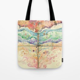 Where everything is music Tote Bag
