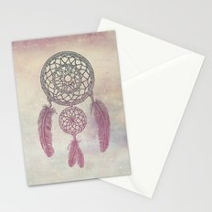 Double Dream Catcher (Rose) Stationery Cards