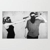splatter Area & Throw Rugs featuring Splatter by Brandon Juarez