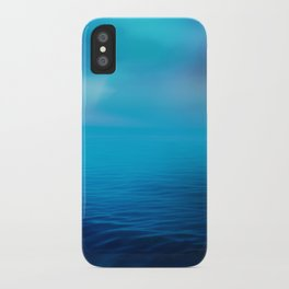 The Big Blue iPhone Case