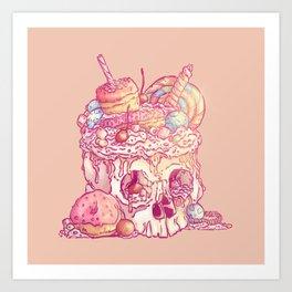 Skull No.3 // The Yummy One Art Print