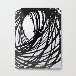 Ellipse Metal Print