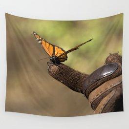 Monarch friend Wall Tapestry