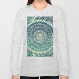 BICOLOR COLD WINTER MANDALA Long Sleeve T-shirt