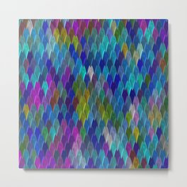Diamonds of Color Metal Print