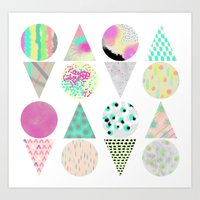 psychedelic Art Prints featuring Psychedelic by Catalina Montaña