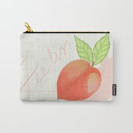 Feeling peachy Carry-All Pouch