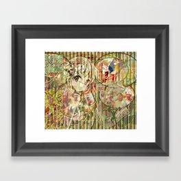 Jeune fille de joie usine (Factory girl joy) (2) Framed Art Print