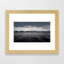 'Lake Ominous' Framed Art Print