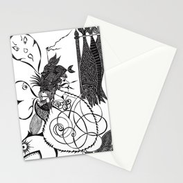 Nets and fishes  Stationery Cards