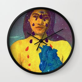 From the inside out Wall Clock