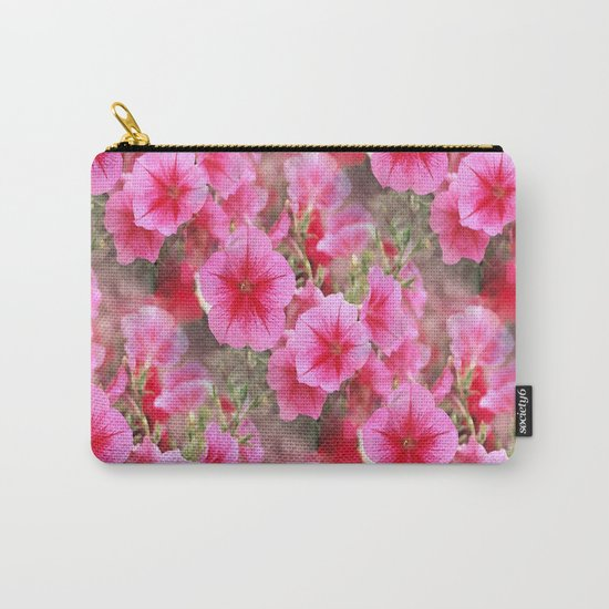 Love of Petunias.... Carry-All Pouch