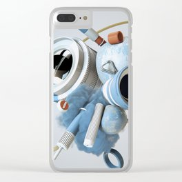 3D Objective Clear iPhone Case