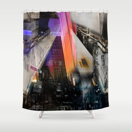 Meet me in my smooth city Shower Curtain