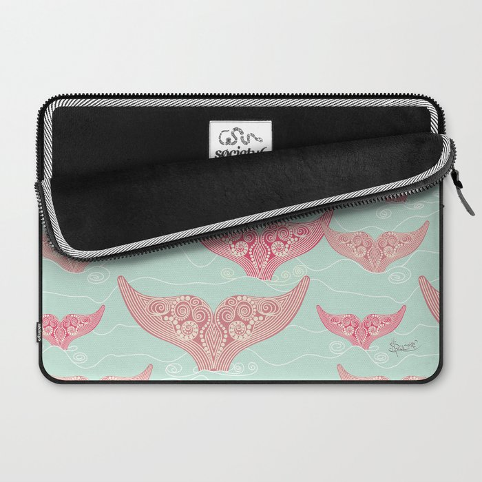 FINALLY! Whales are free from persecution! Laptop Sleeve